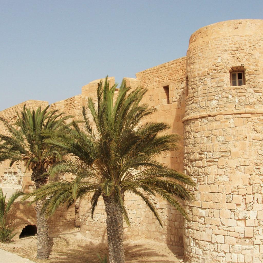 Bordj el-Kebir fortress on Djerba