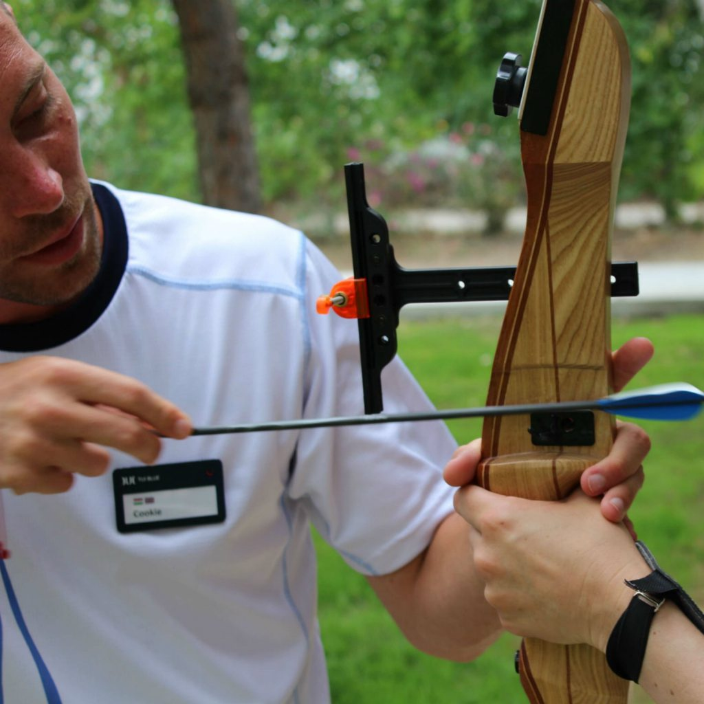 archery training lesson
