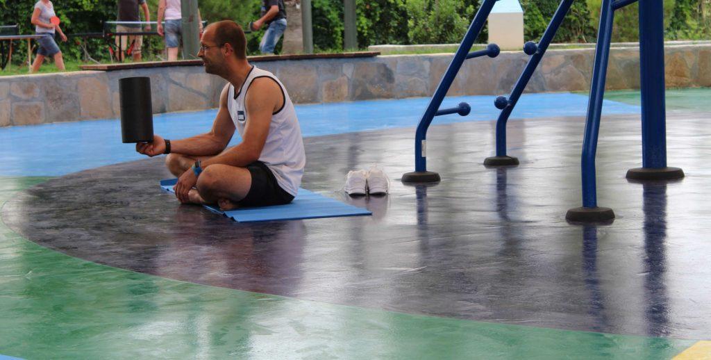 Fascia training at a TUI BLUE hotel