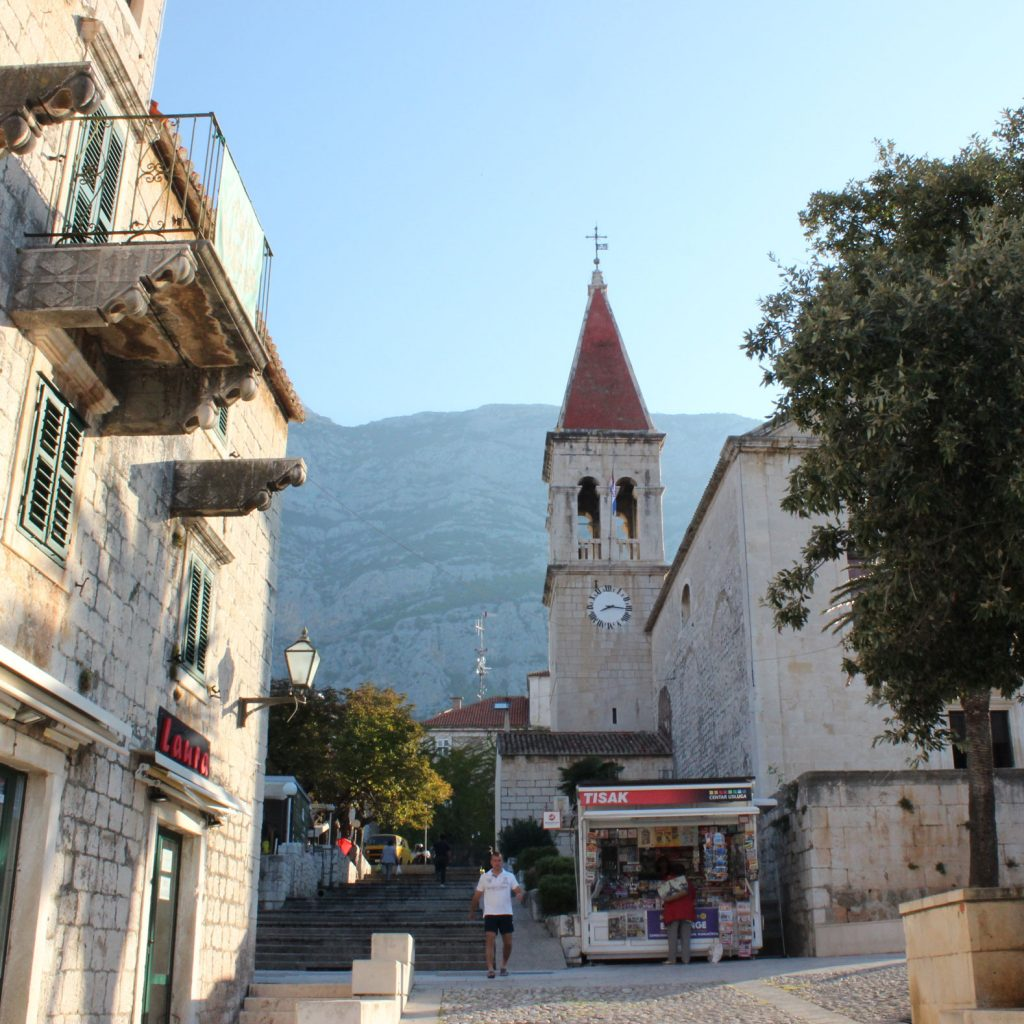 Church in Makarska