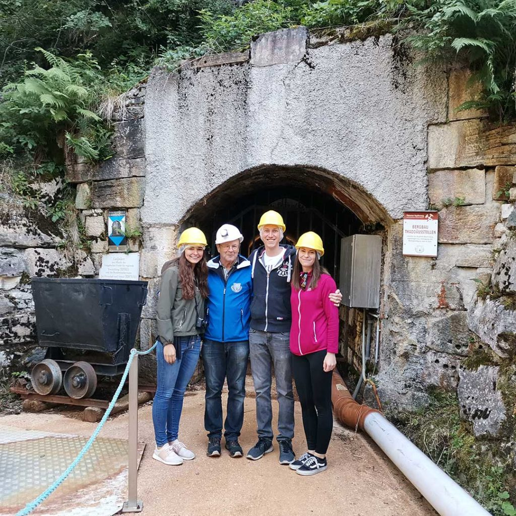 tunnel entrance oeblarner kupferweg copper trail