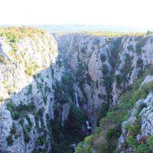 Wasserfall Cetina Zadvarje