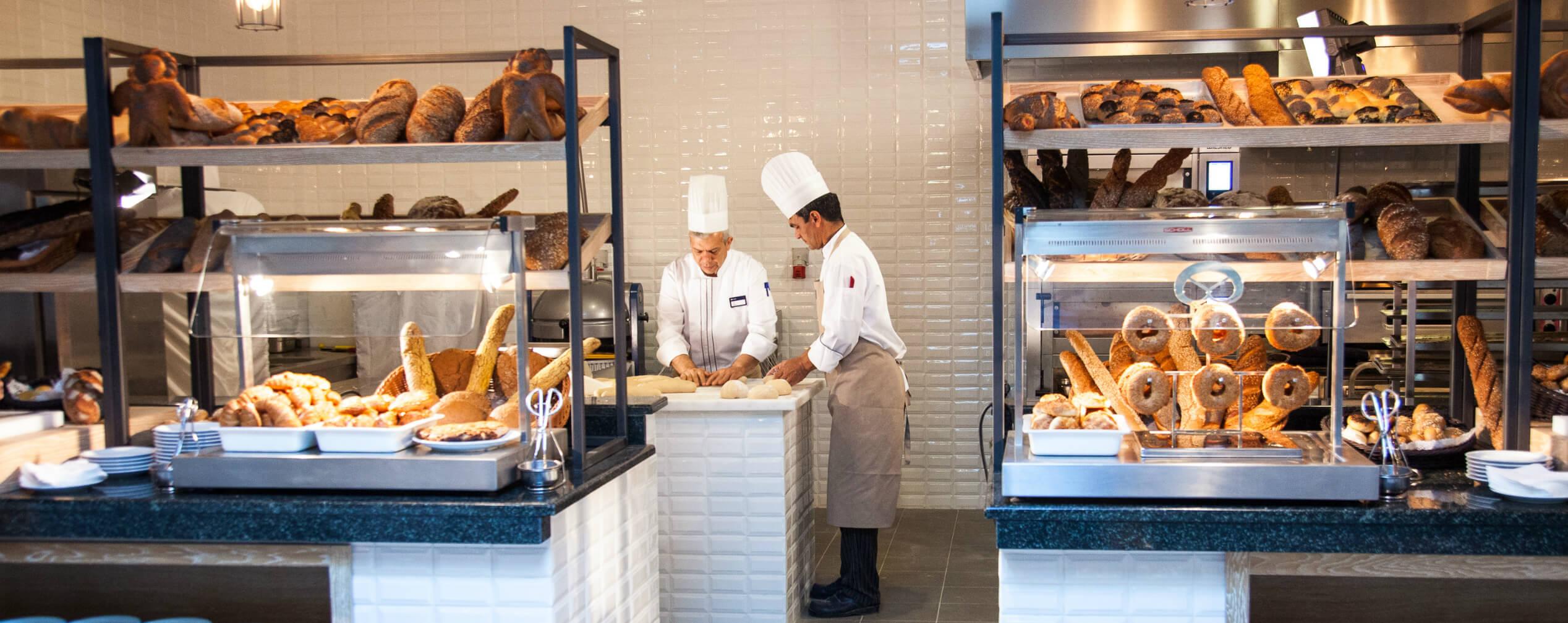 Hausbäckerei Bäcker Brot TUI Blue