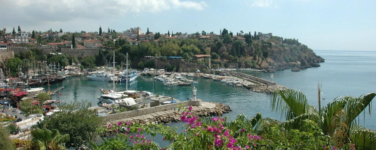 Antalya city view