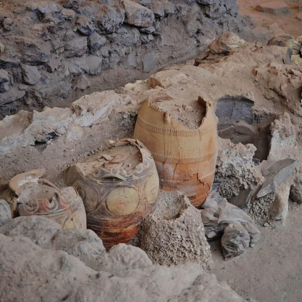 Antike Fundstücke Tipps Santorini