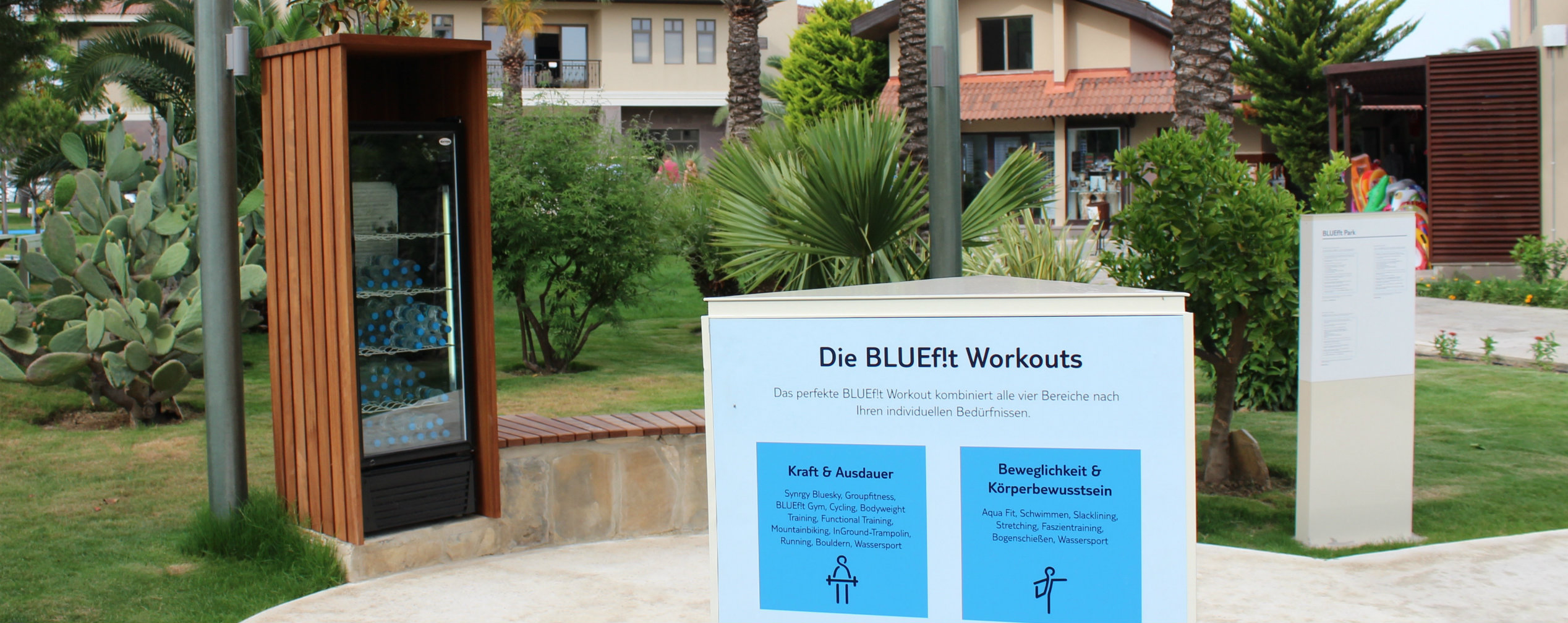 Bodyweight Course im BLUEf!t Park
