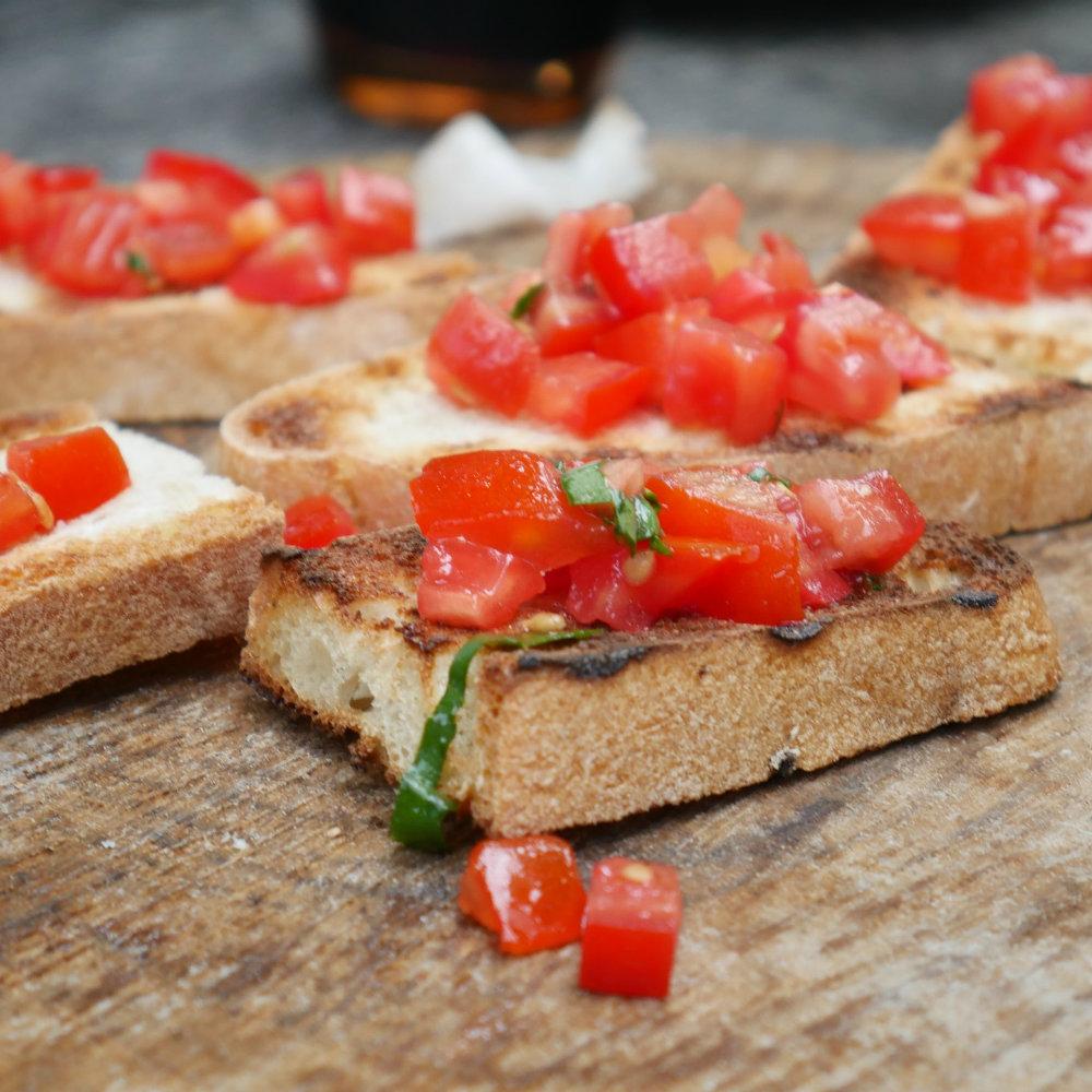 Bruschetta Tomate Brot