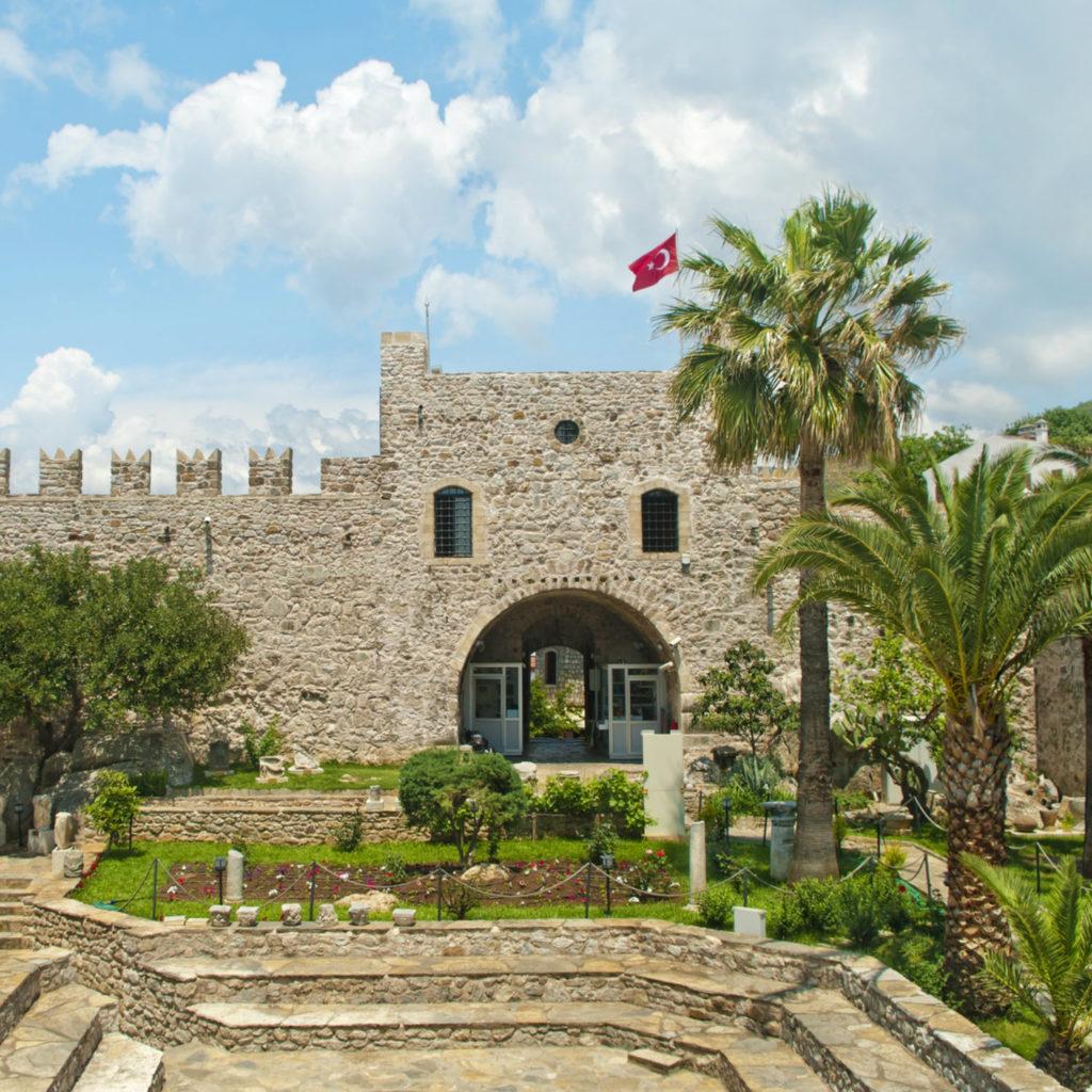 Burg im türkischen Marmaris