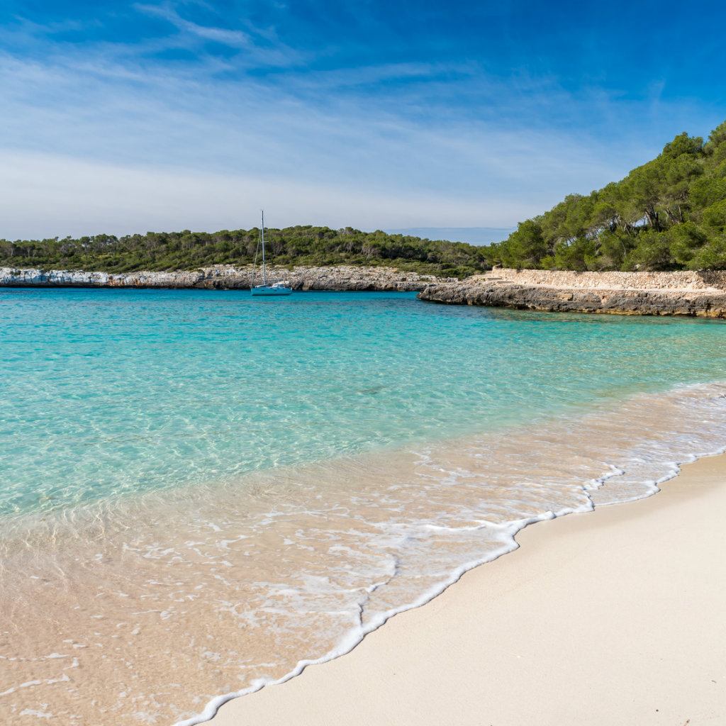 Cala Mondrago on Mallorca