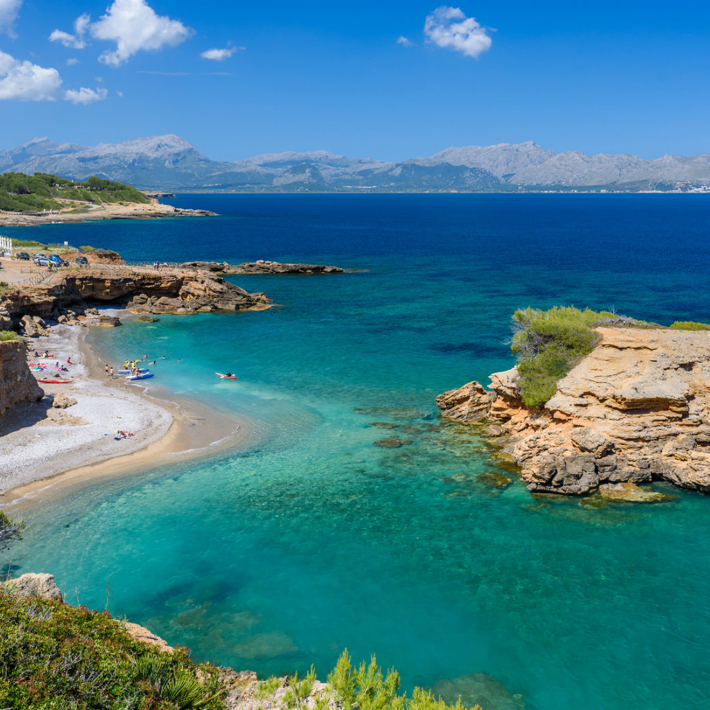 Cala S'Illot on Mallorca