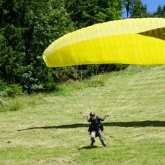 Paragliding oder Angst – es kann nur einen geben