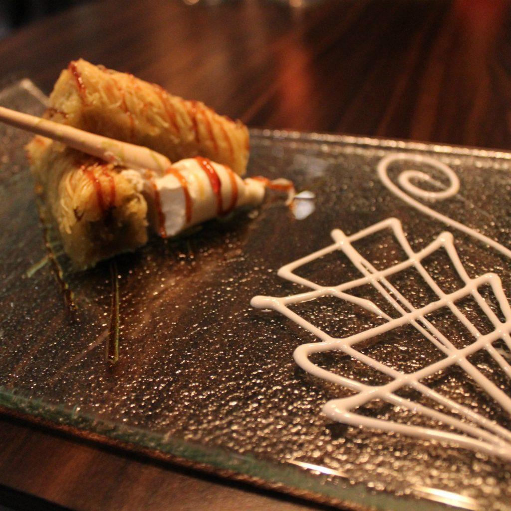 Dessert at the restaurant Levante