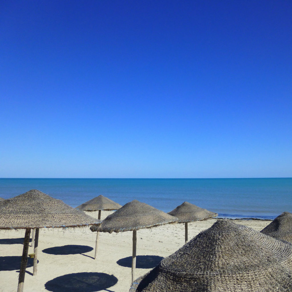 Blauer Himmel über Djerba