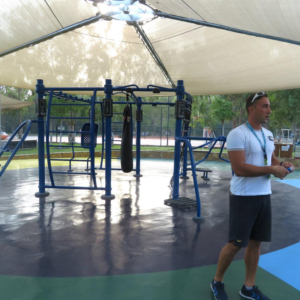 BLUEf!t Camp Seyfi Fitnesstracker Trainingssystem