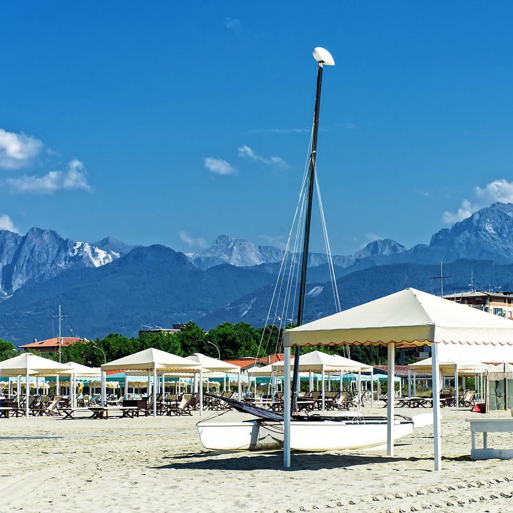 Marina di Torre del Lago Puccini Toskana