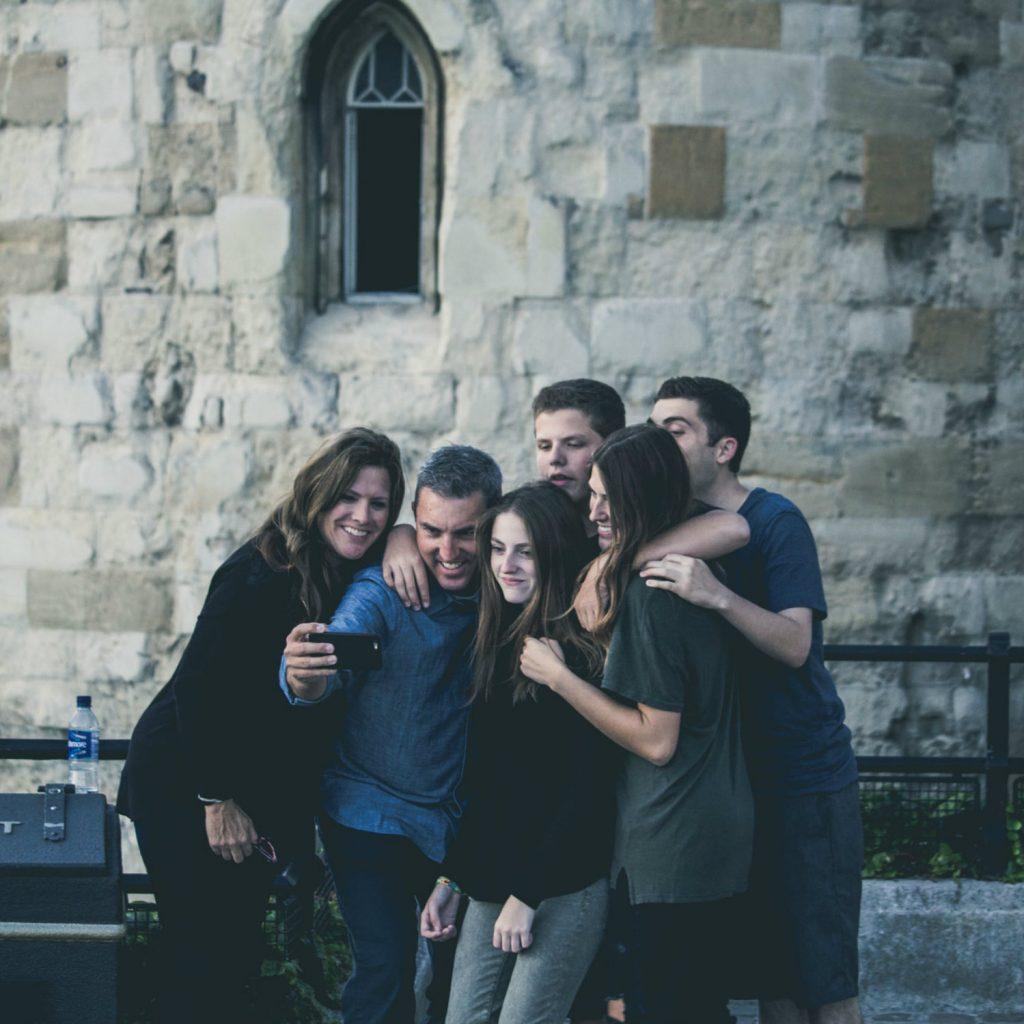 Gruppen Selfie