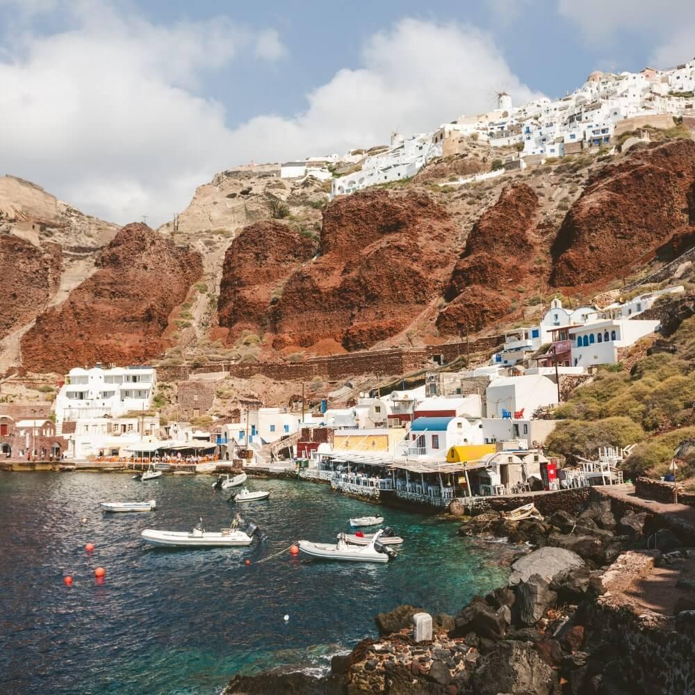 Hafen von Ammoudi Tipp Santorini