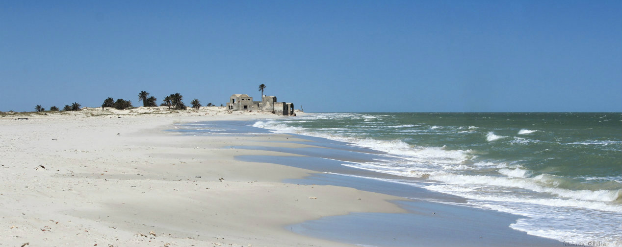 Beach on Djerba