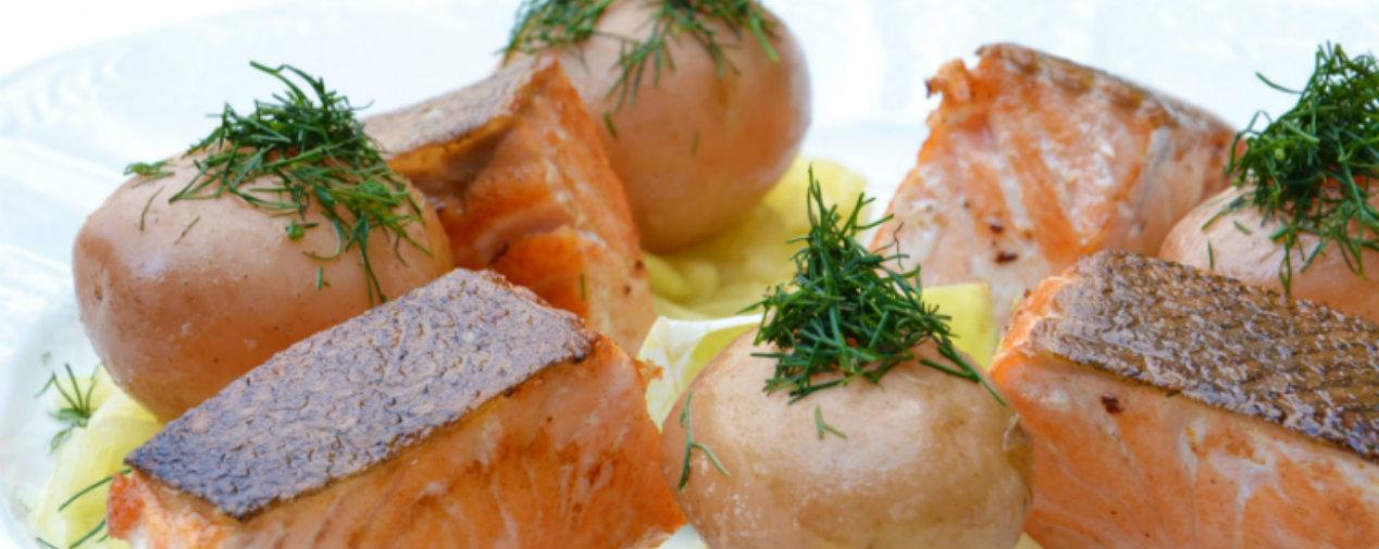 Mecklenburgische Küche Lachs