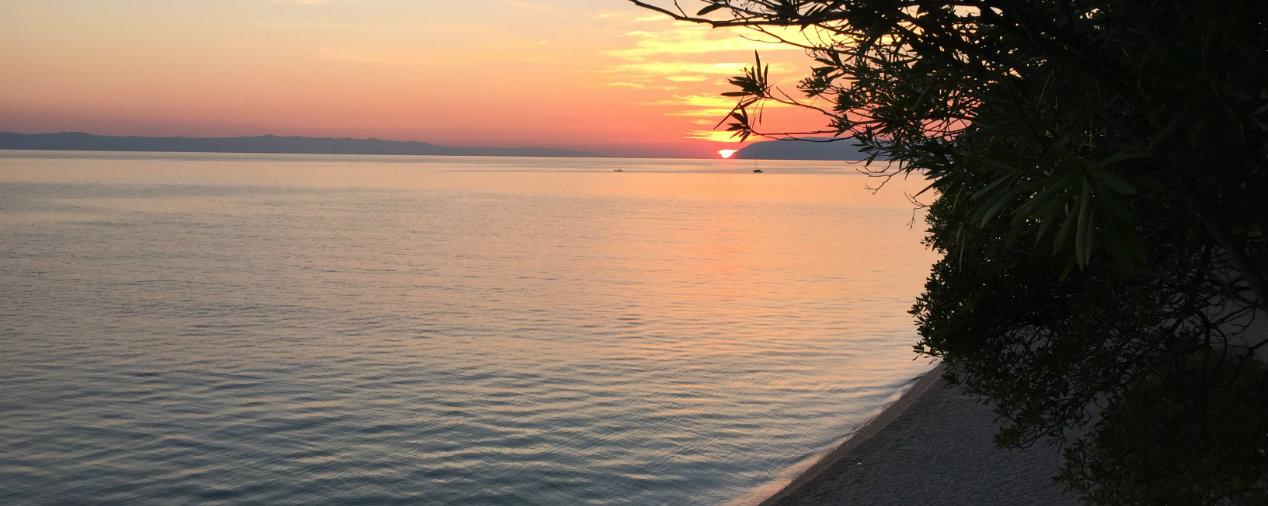 Jadran Beach, Dalmatien, Kroatien