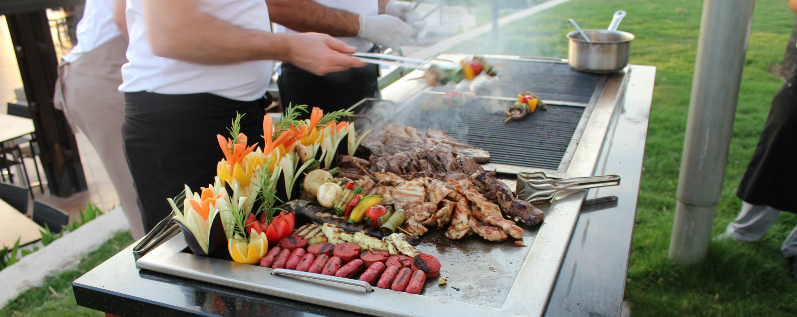 Beach Barbecue im TUI BLUE Palm Garden