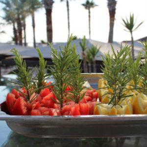 Gemüse, Rosmarin Grill