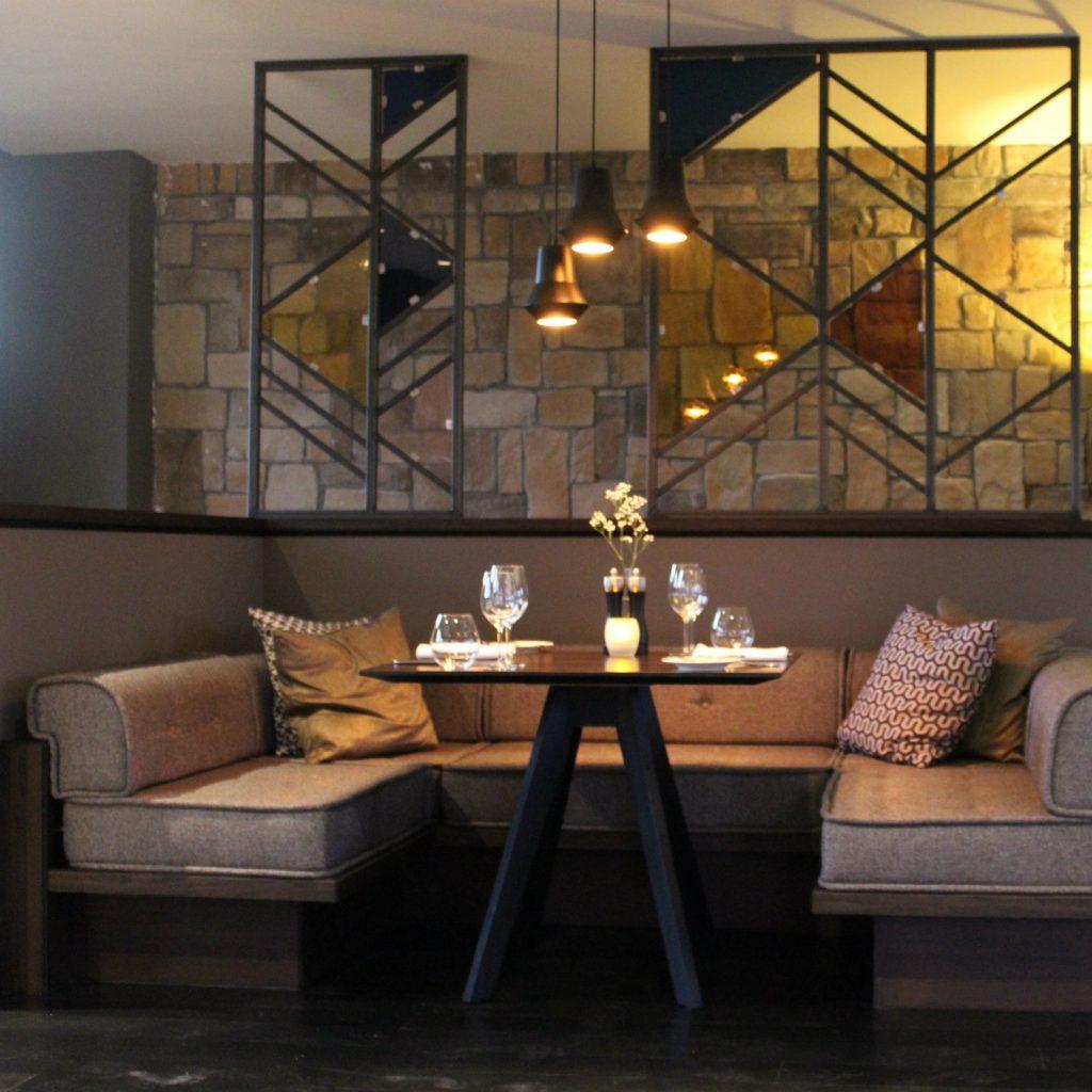 Inneneinrichtung des Restaurant Levante
