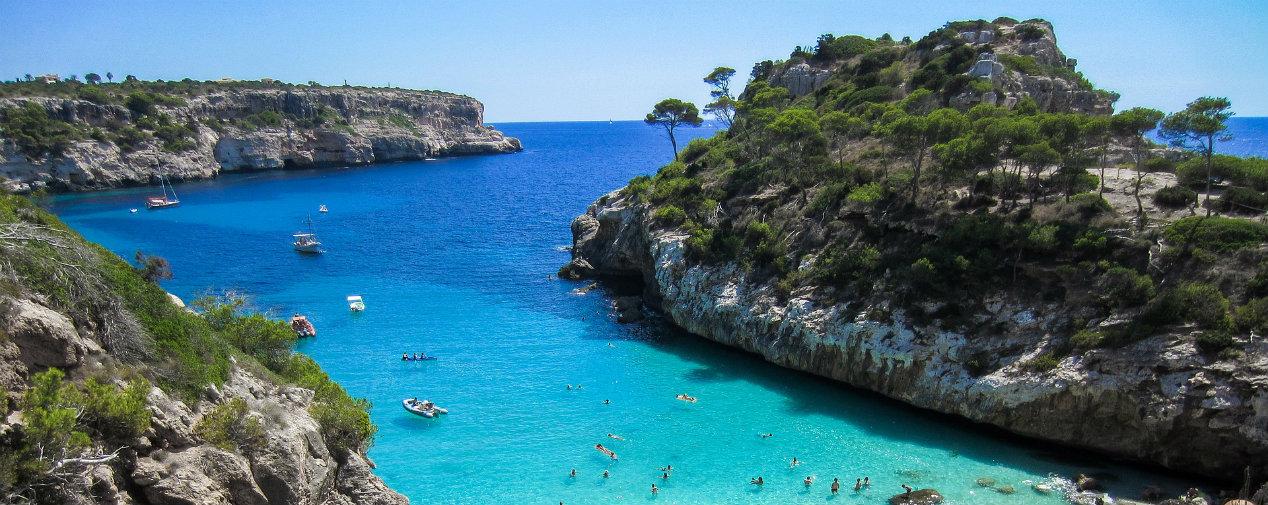 Bucht Cala Mitjana Mallorca