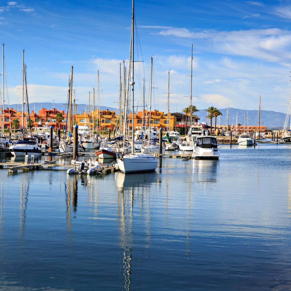 schönsten Strände Portugals Yacht Meer