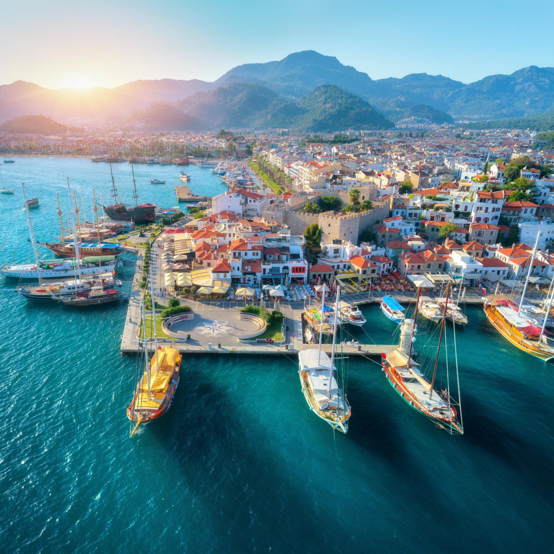 Hafen in Marmaris