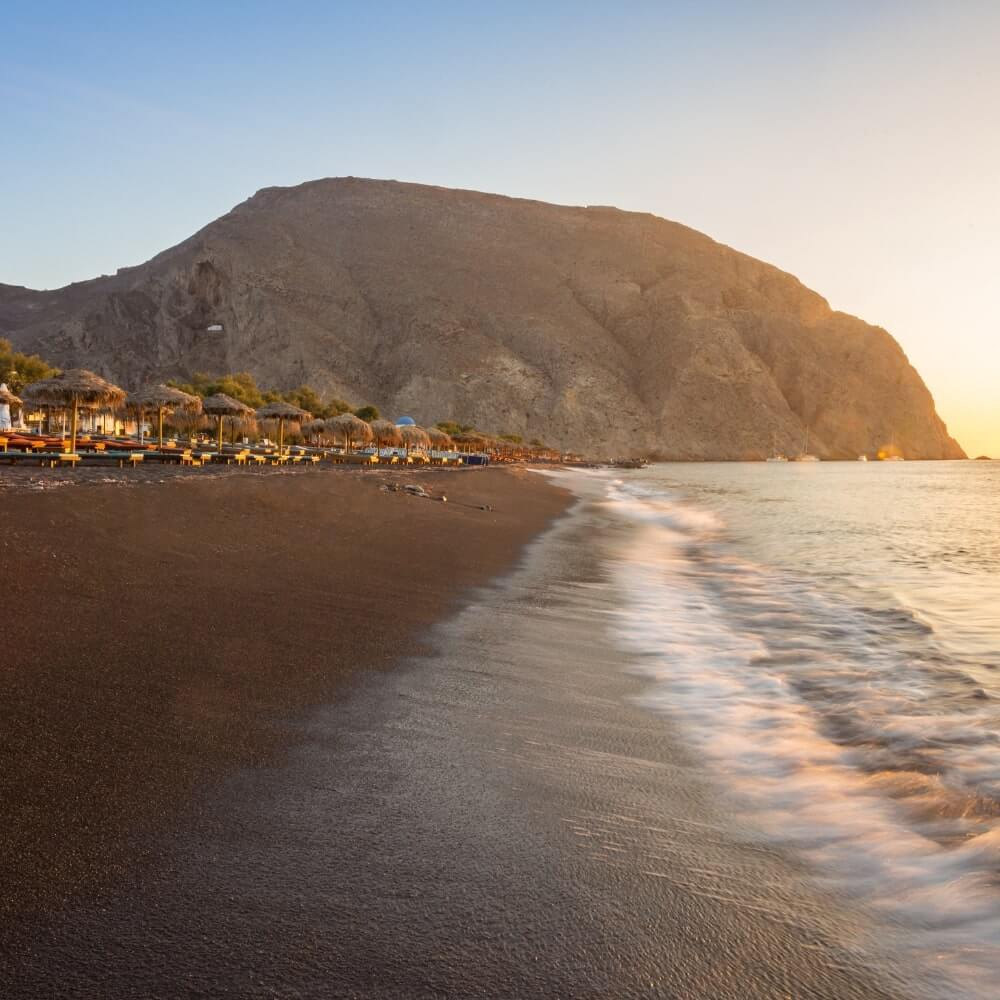 Perissa Beach Tipp Santorini