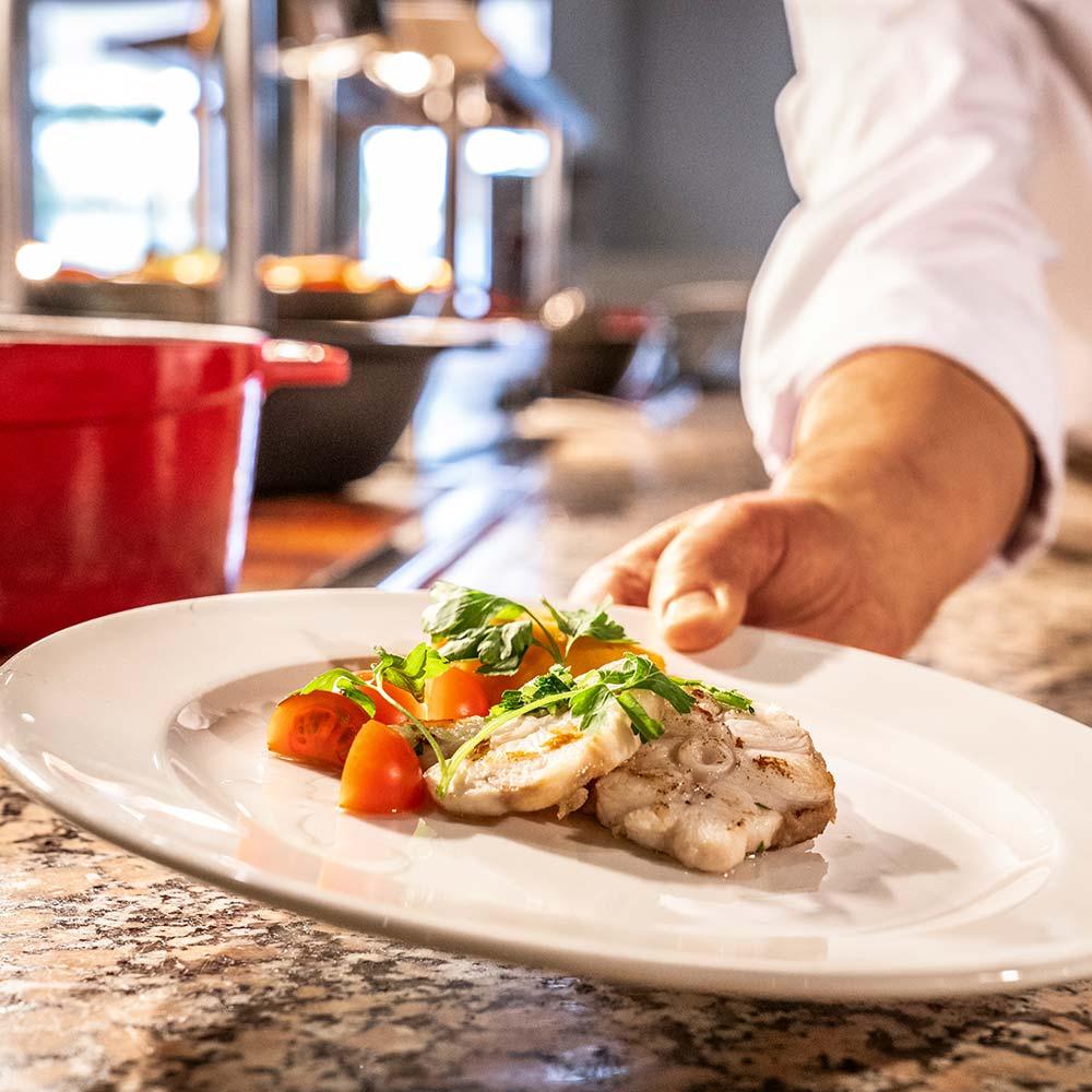 Portugal Falesia Hotel food
