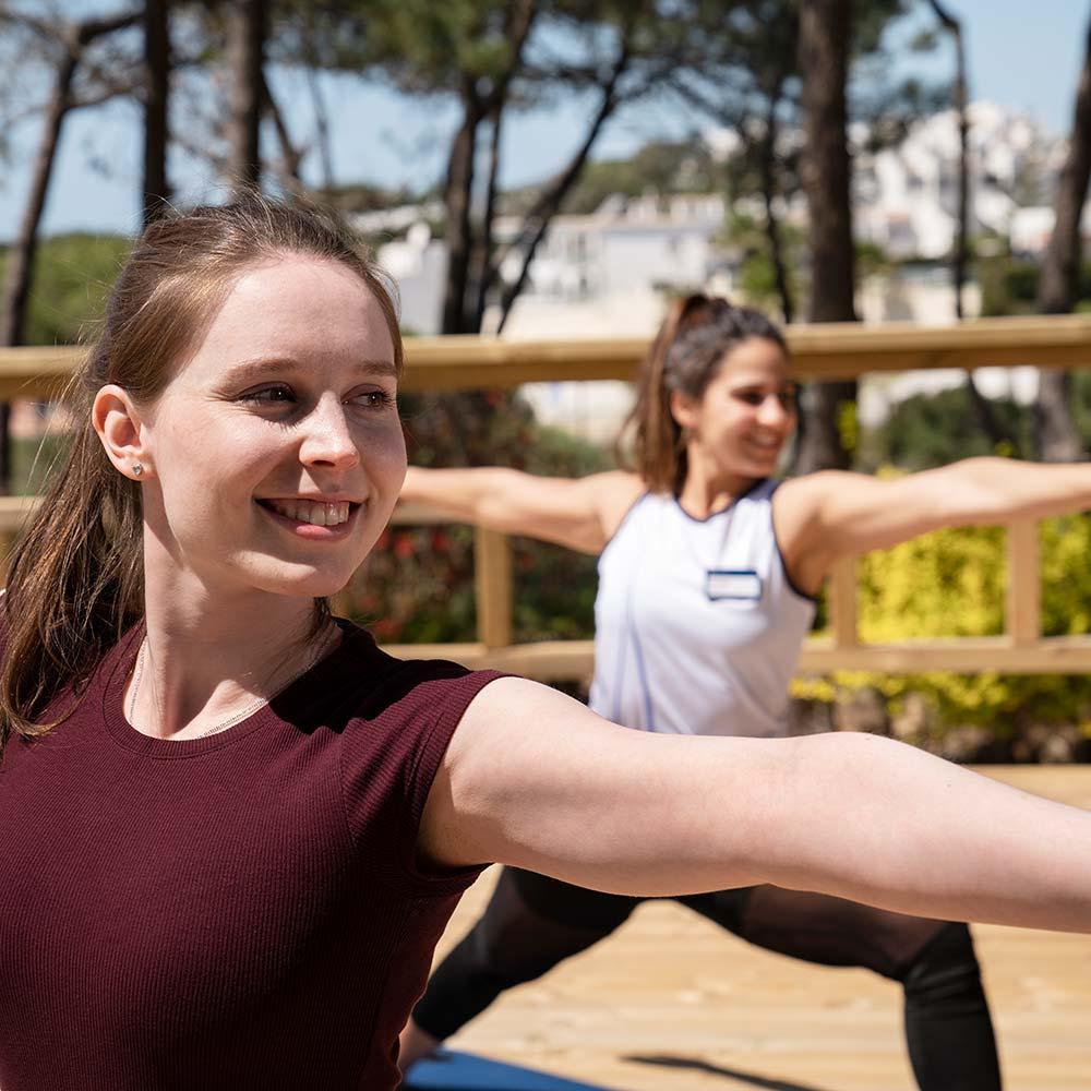 Portugal Falesia Hotel yoga