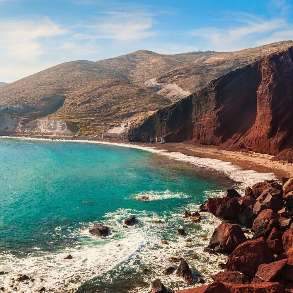 Red Beach Tipp Santorini