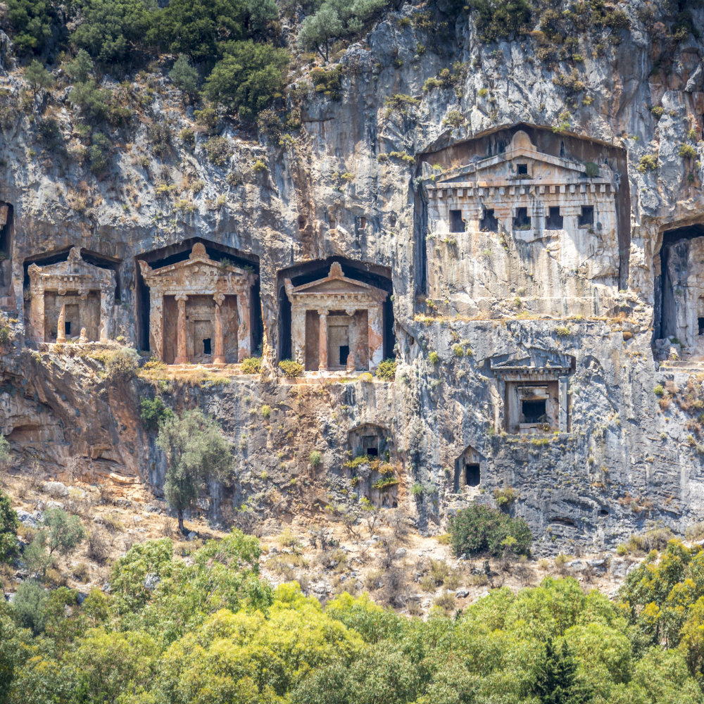 City of ruins in Turkey