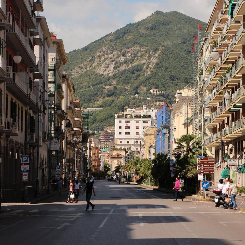 Straße durch Solerno
