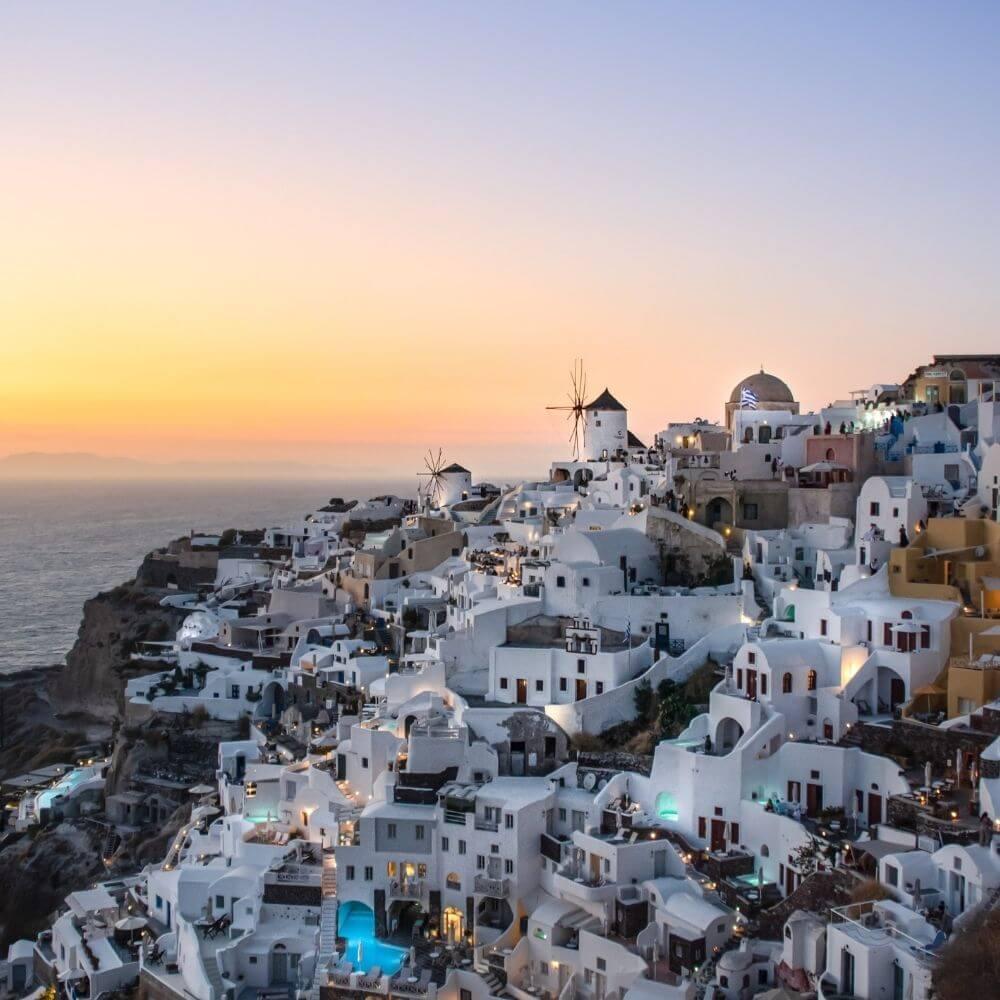 Sonnenuntergang in Oia Tipp Santorini