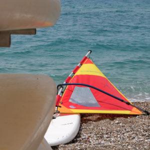 TUI BLUE Surfboard at the beach
