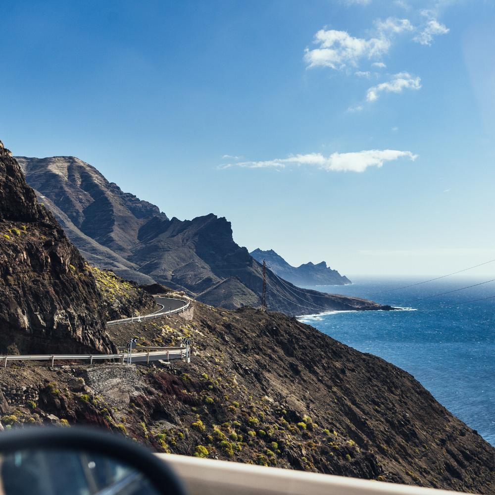 Urlaub Kanarischen Inseln Gran Canaria Küstenstraße