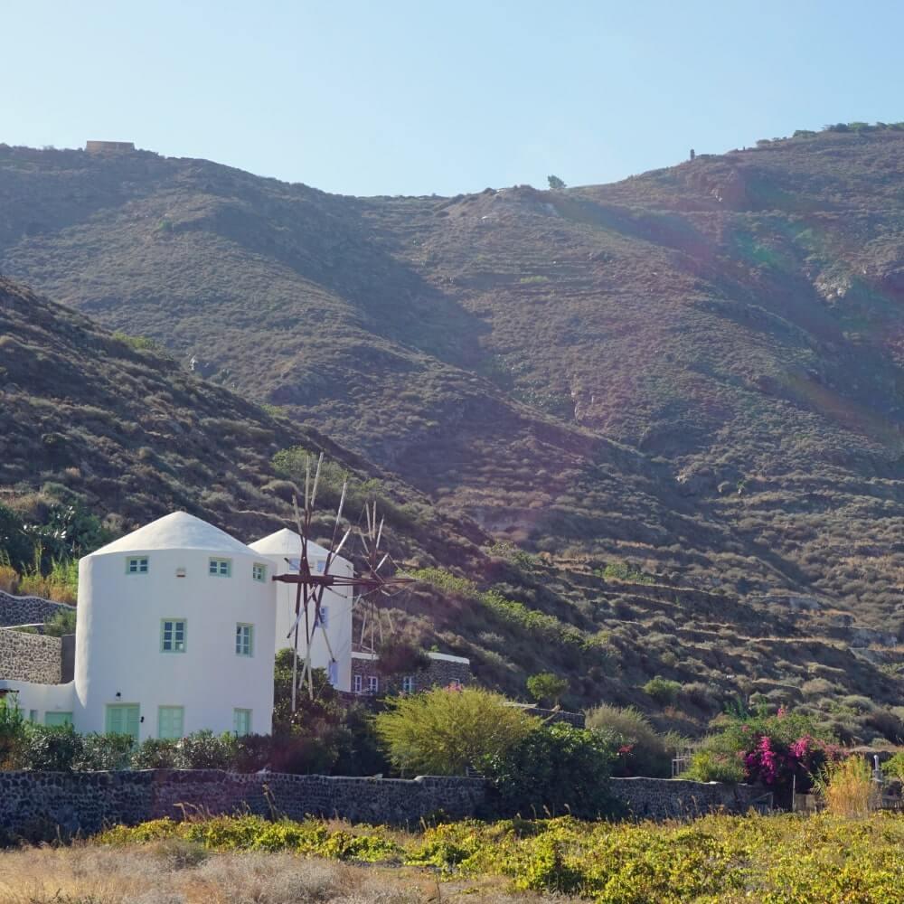 Weinanbaugebiet Tipp Santorini