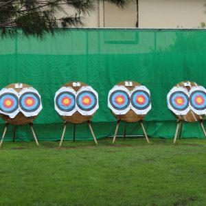 Zielscheiben Bogenschießen Tui Blue