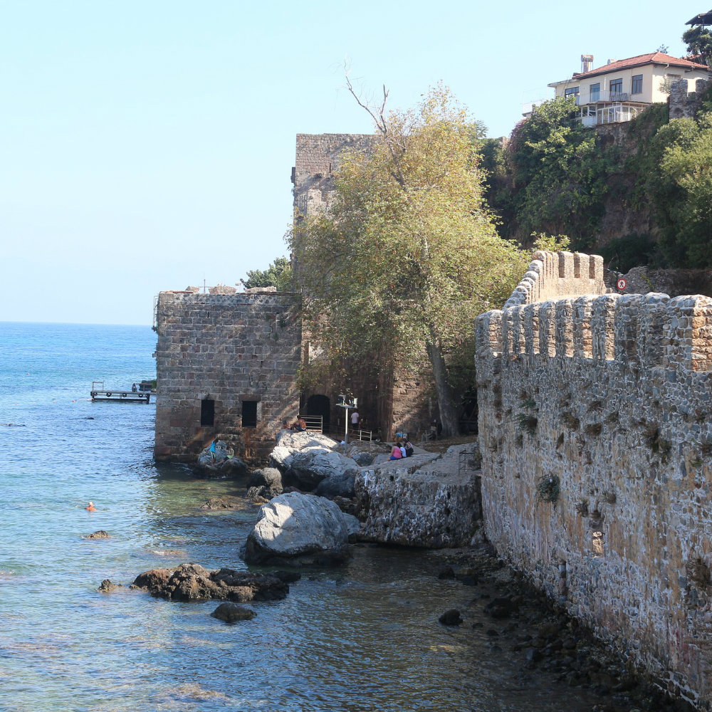 Alanya Fortress Wall