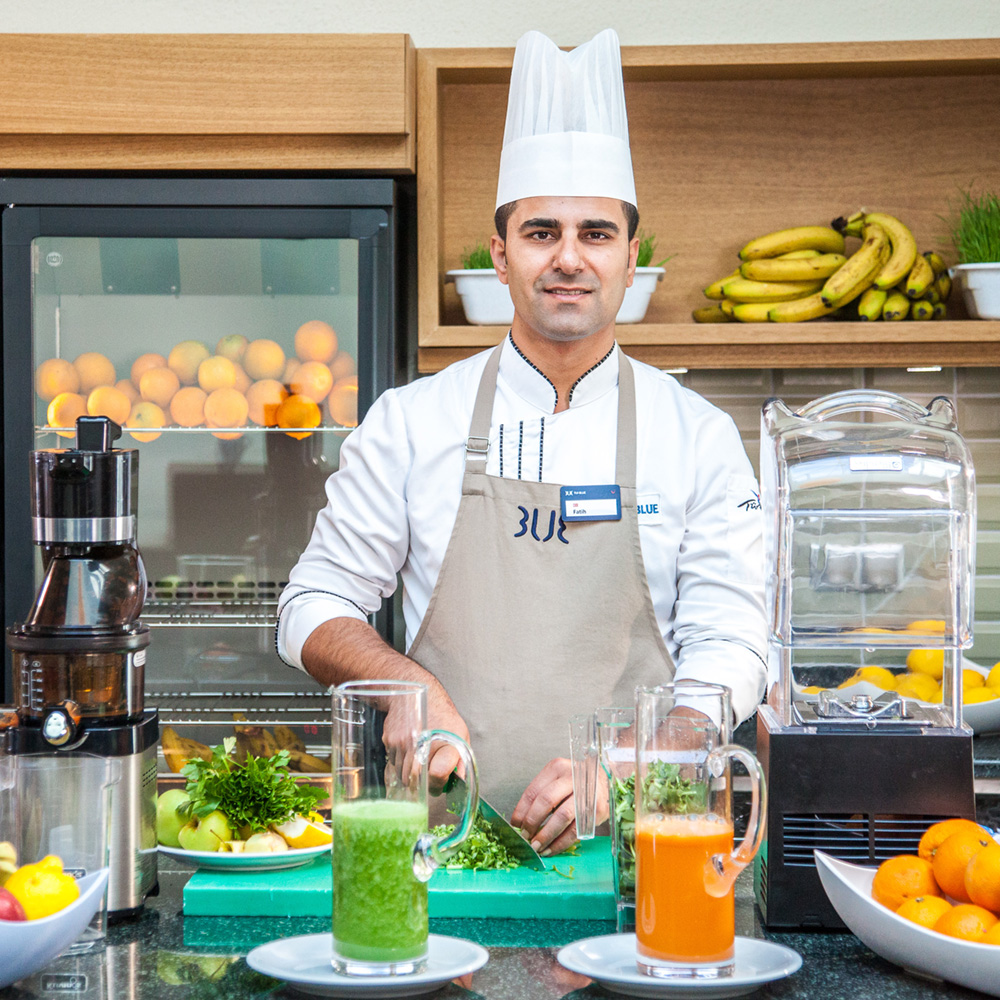 Chef-prepared smoothies
