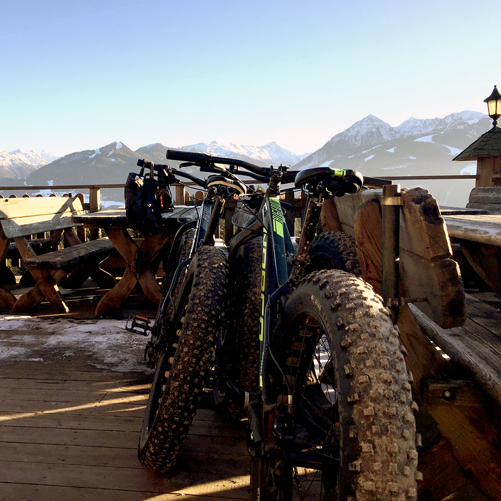 Alpen Panorama Fatbike Schladming