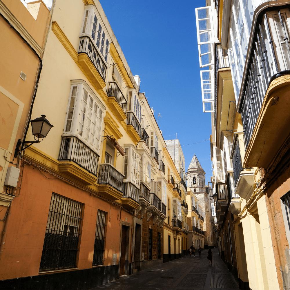 Altstadt Cádiz Sehenswürdigkeiten