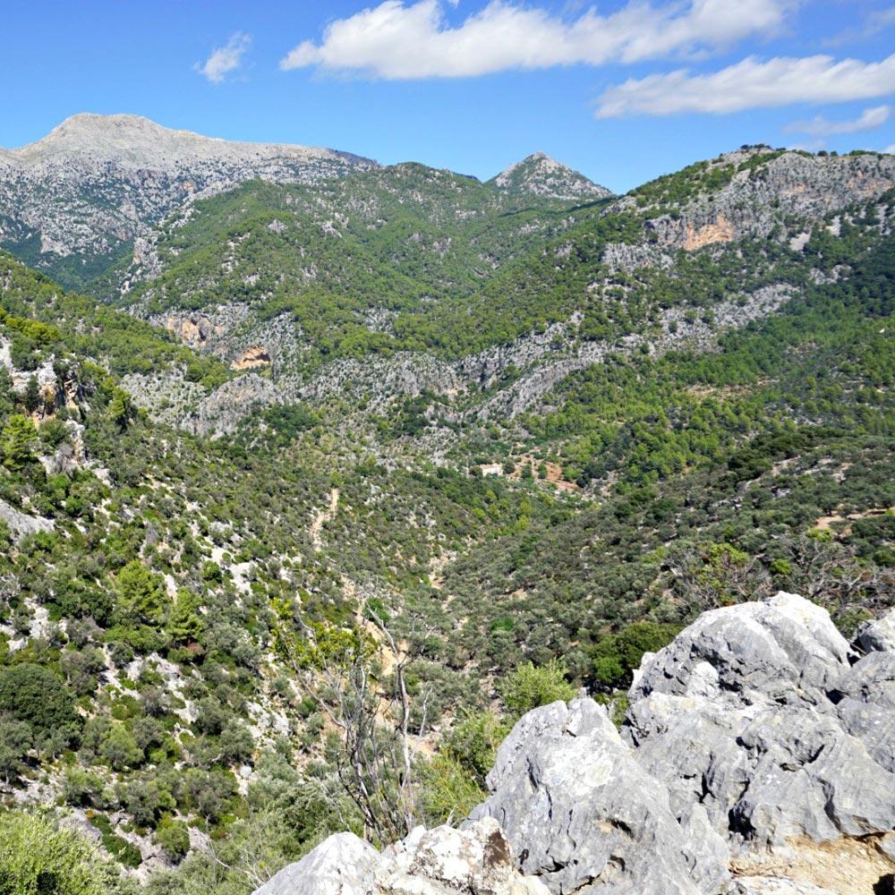 view on mountains mallorca