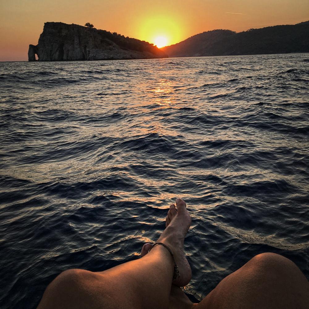 legs sunset turkey