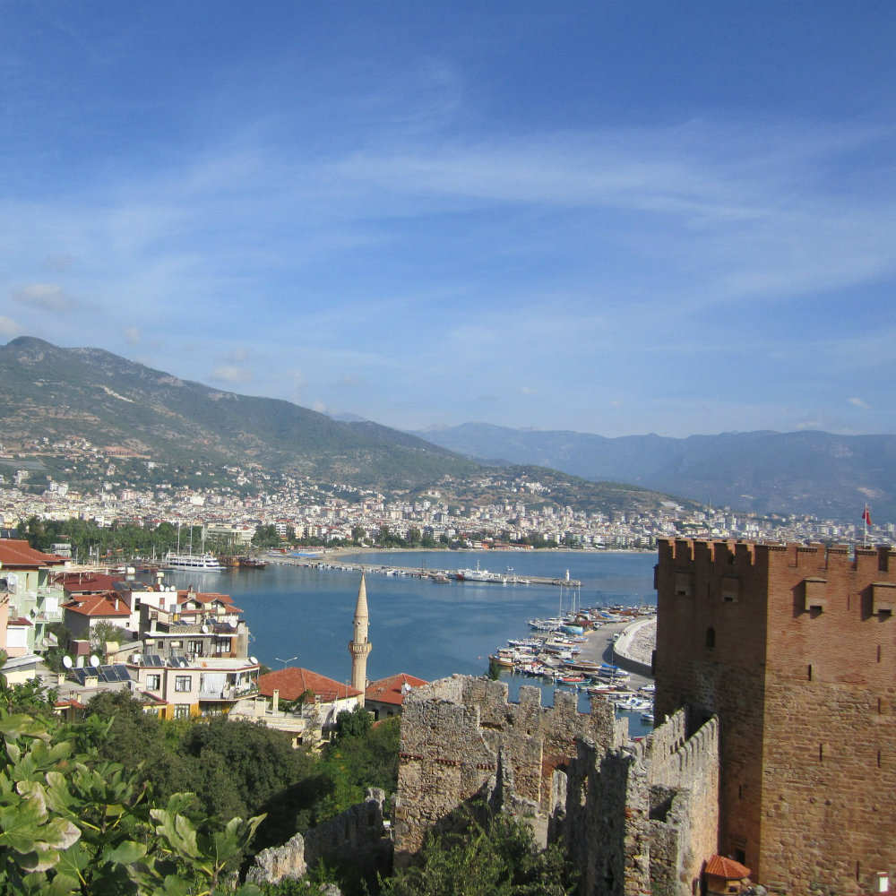 View over Alanya