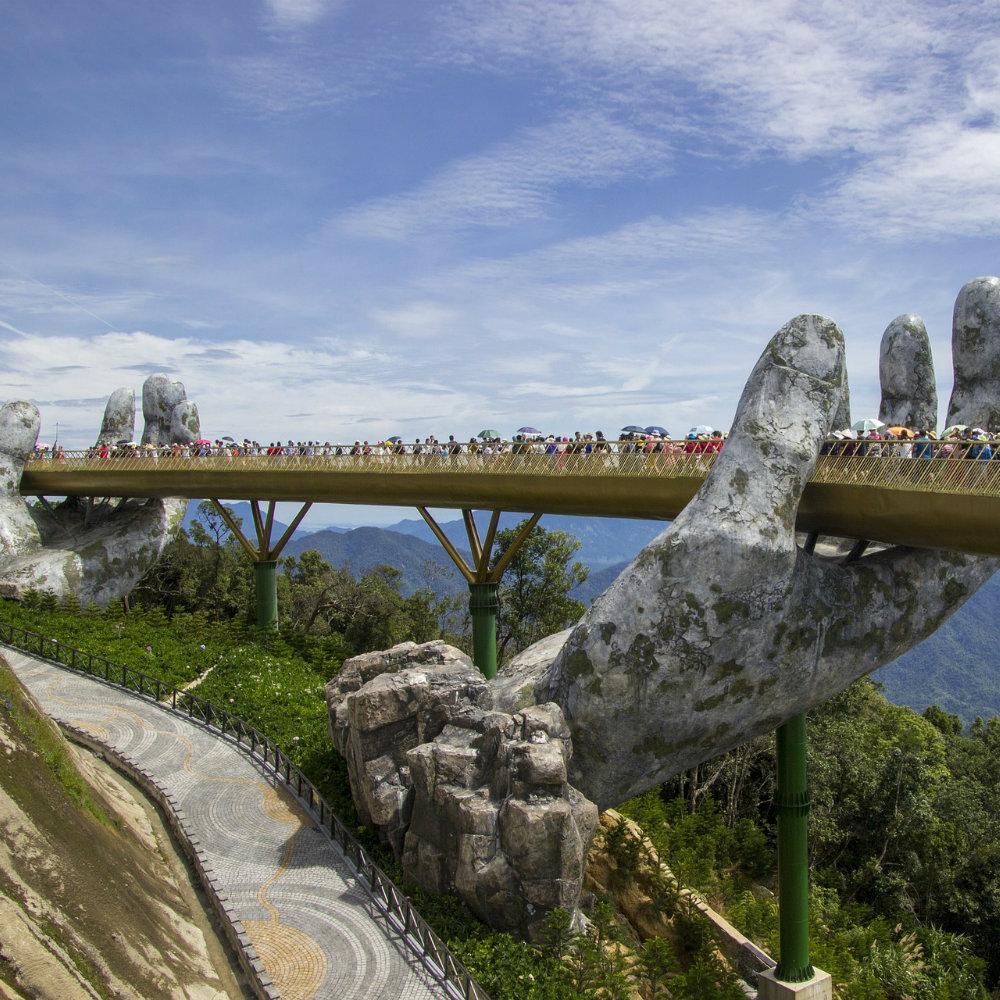 Goldene Brücke Vietnam
