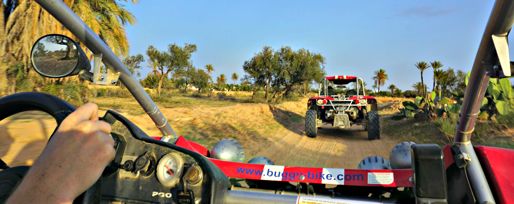 dune buggy tour on djerba